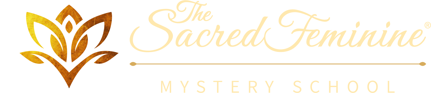 The Sacred Feminine Mystery School Logo