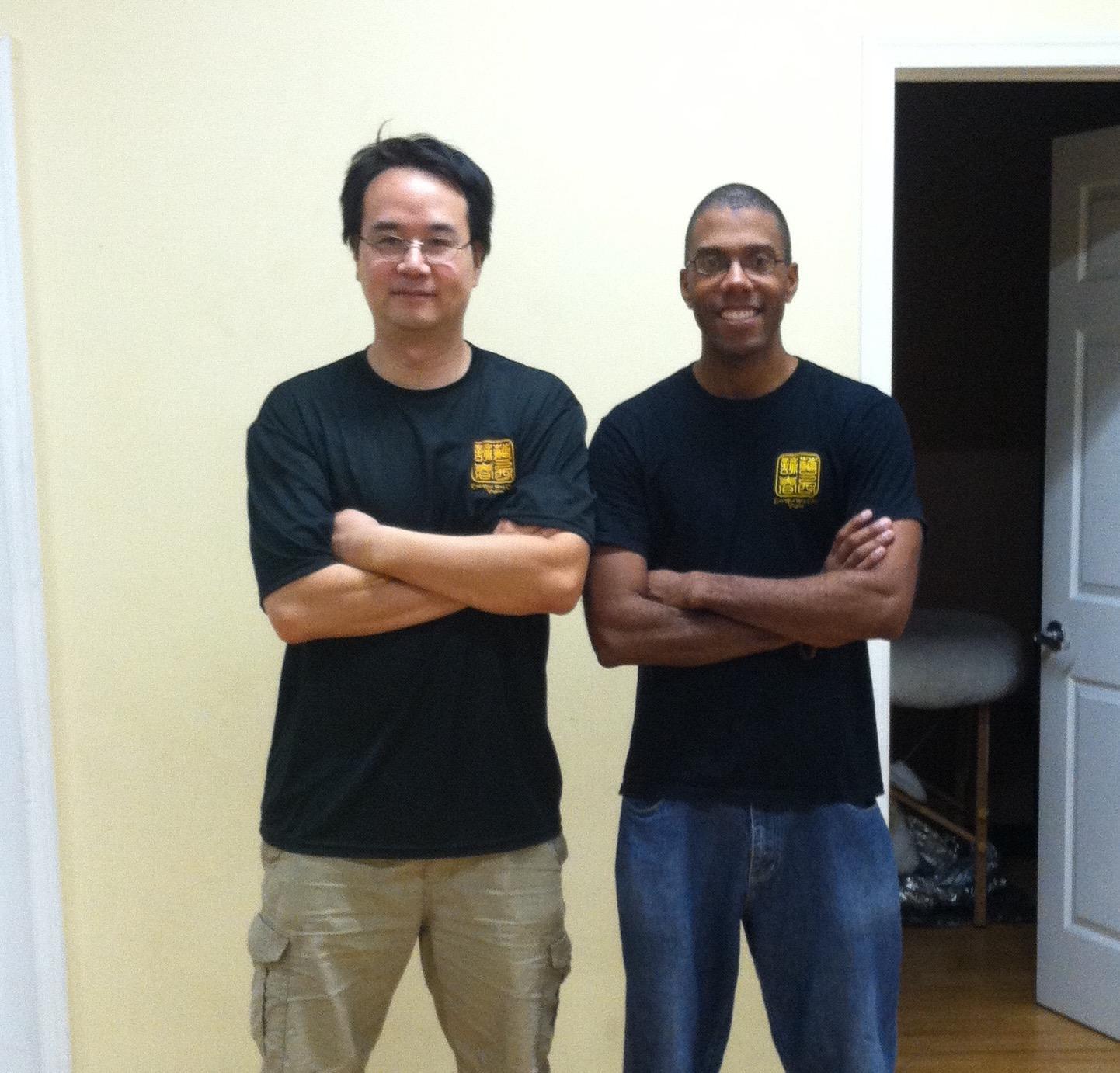 With Sifu John Kang
