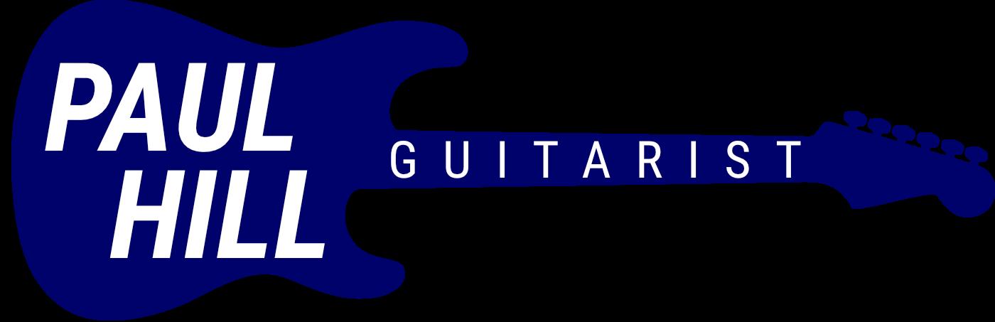 Paul Hill Guitarist logo