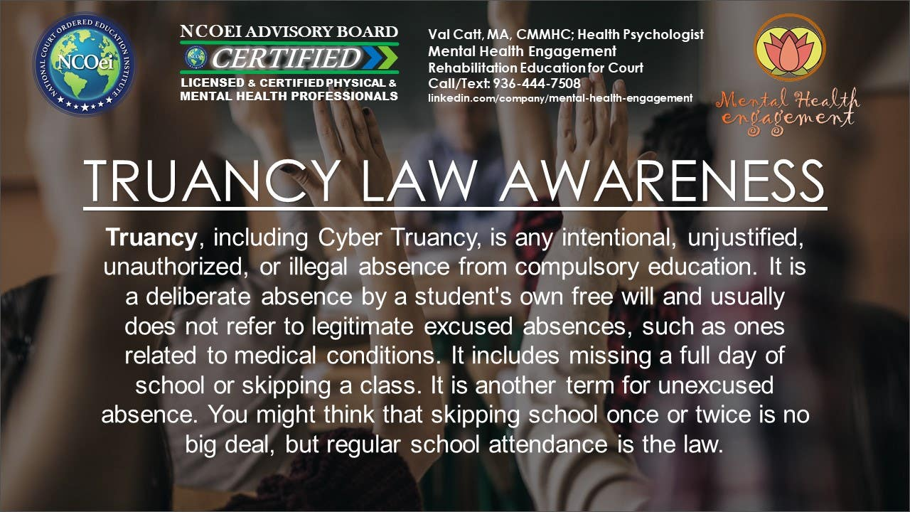NCOei.Thinkific.com Court / Probation eCourses Behavior Modification, Decision Making, Impulse Control, Anger Management, Bullying, Cyber-bullying, Shoplifting, Theft Prevention
