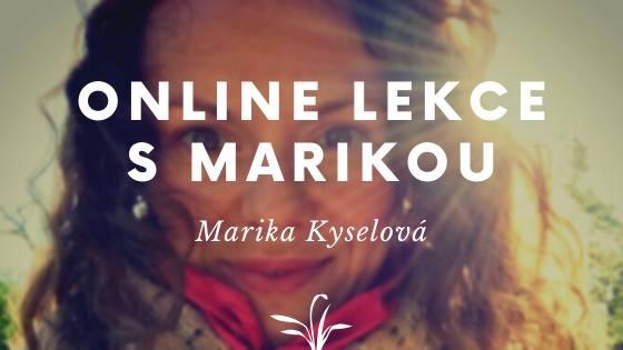 4 I Online lekce s Marikou