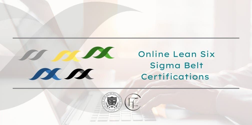 Lean Six Sigma Belt Certifications