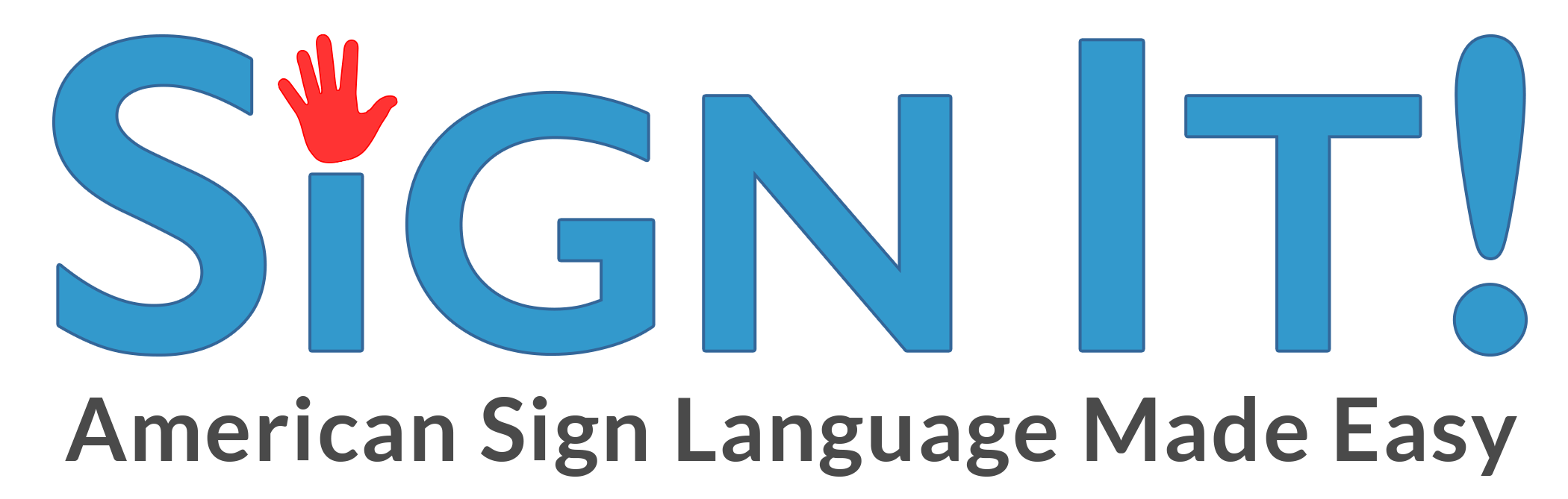Sign It! American Sign Language Made Easy (home page)