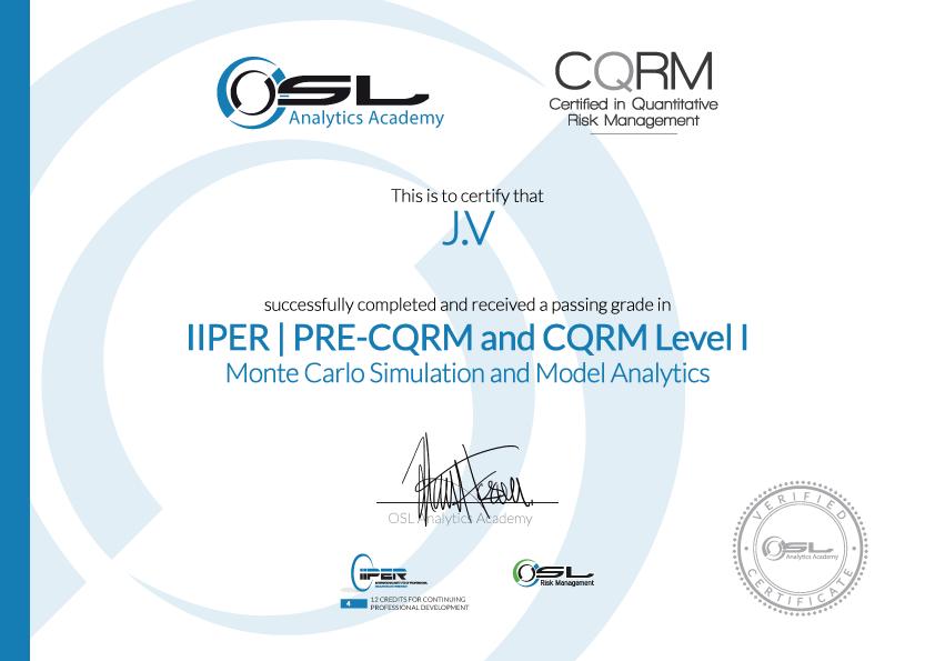 CQRM Accreditation