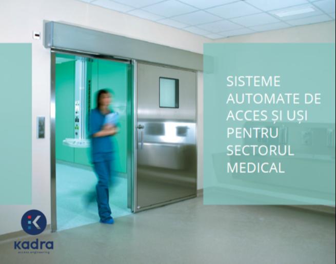 sisteme automate de acces usi pentru sectorul medical