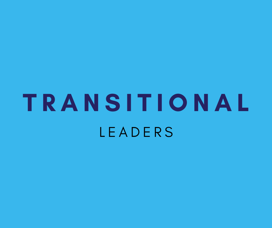transitional leaders