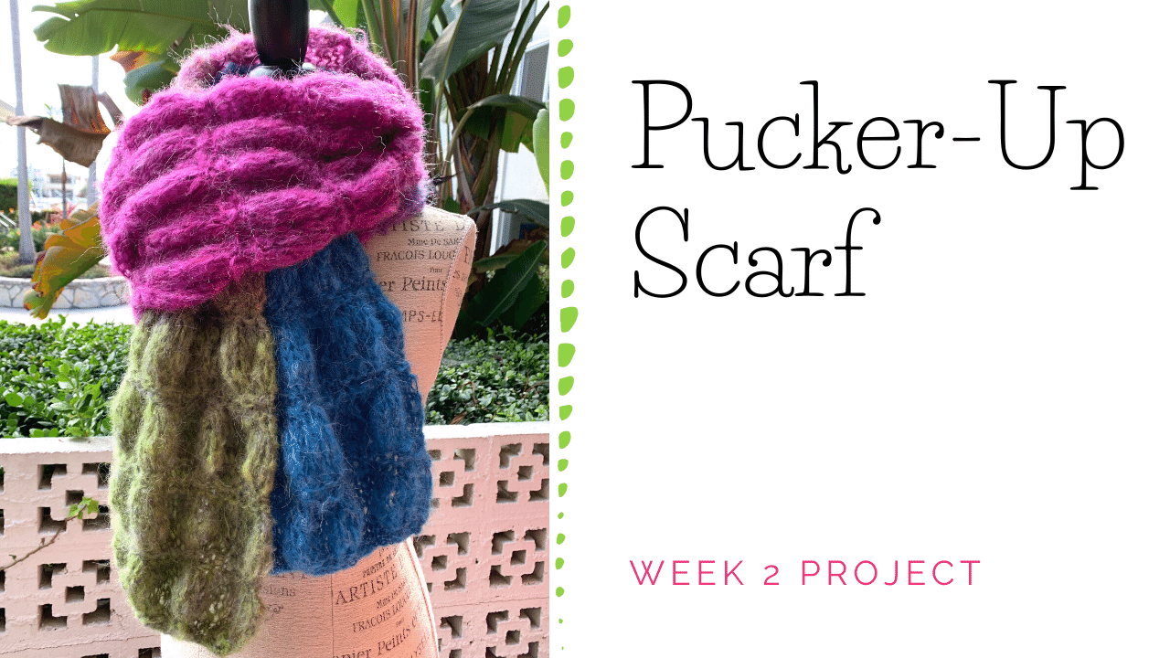 Pucker-Up Scarf