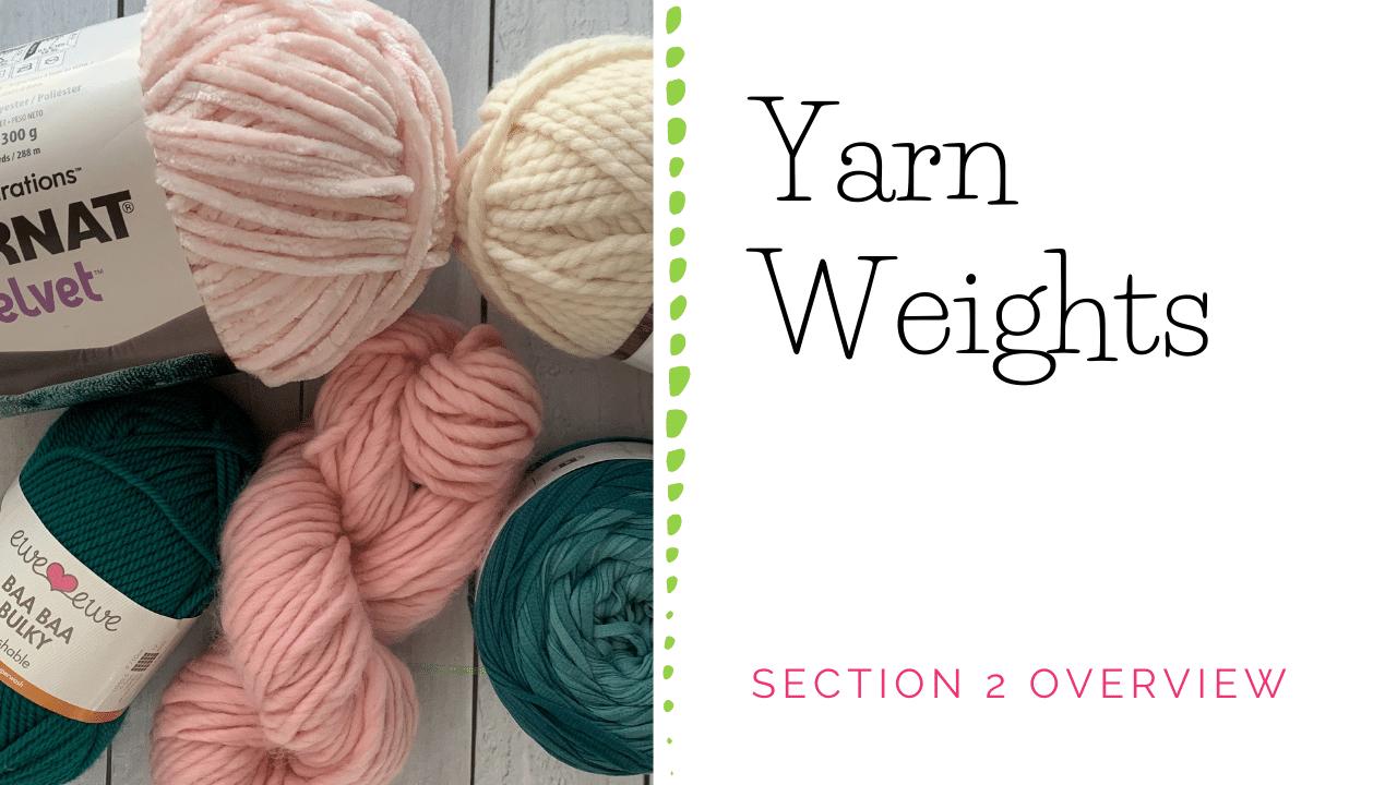 Yarn Weight Guide