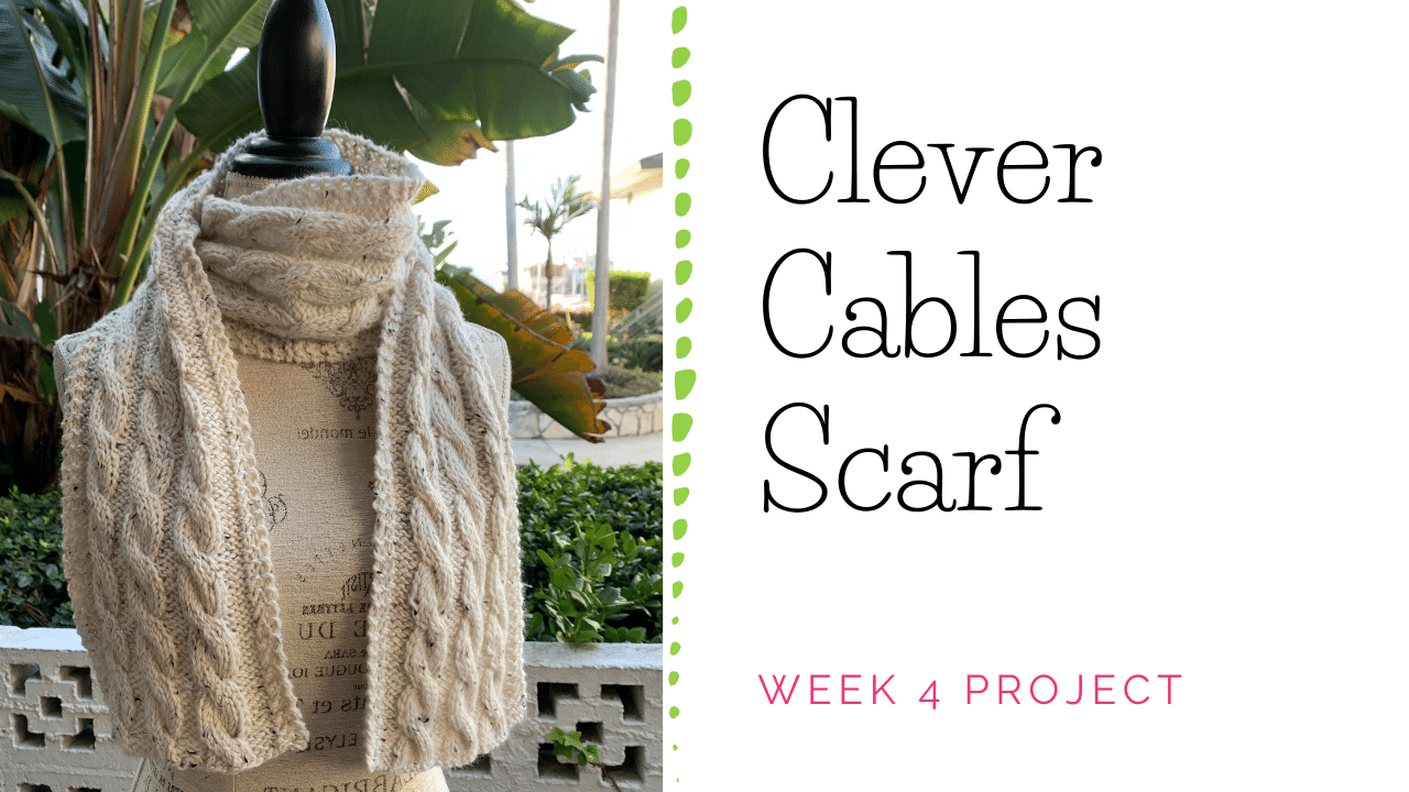 Clever Cables Scarf
