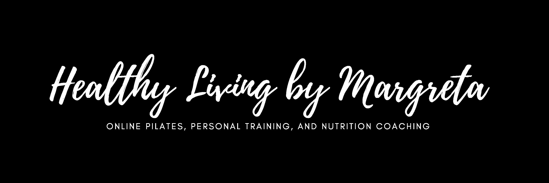 Header: Healthy Living by Margreta