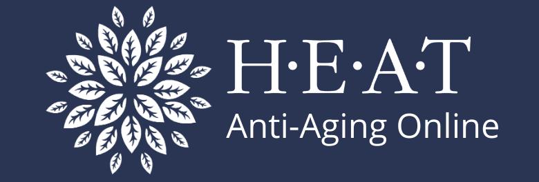 HEAT Anti-aging Online Logo