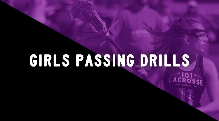 Girls Passing Drills