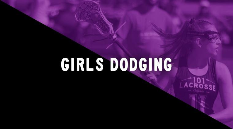 Girls Dodging Drills