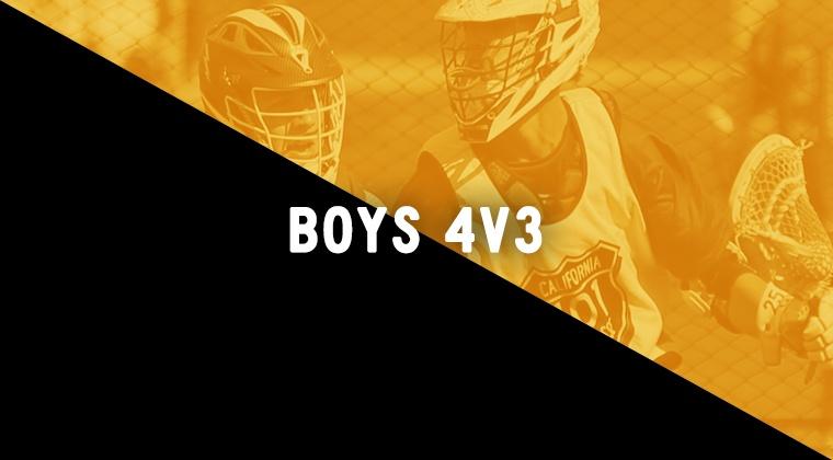 Boys 4v3