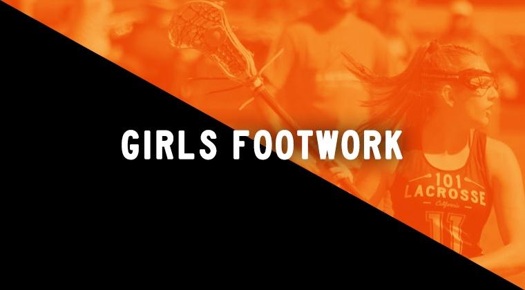 Girls Footwork Drills