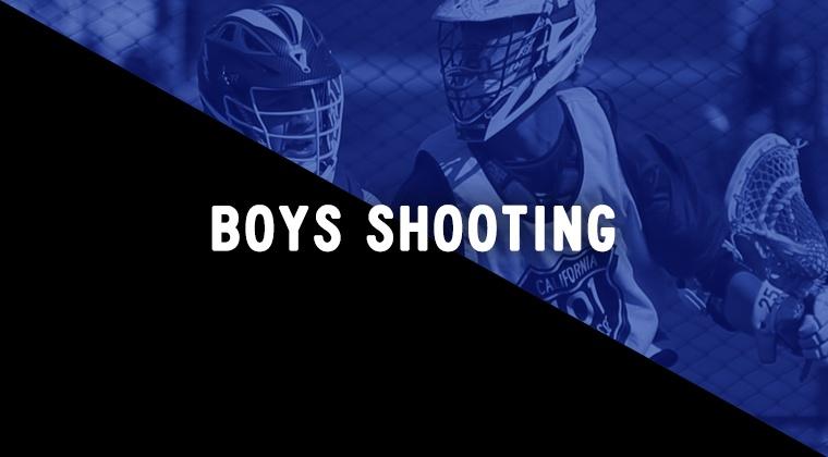 Boys Shooting Drills