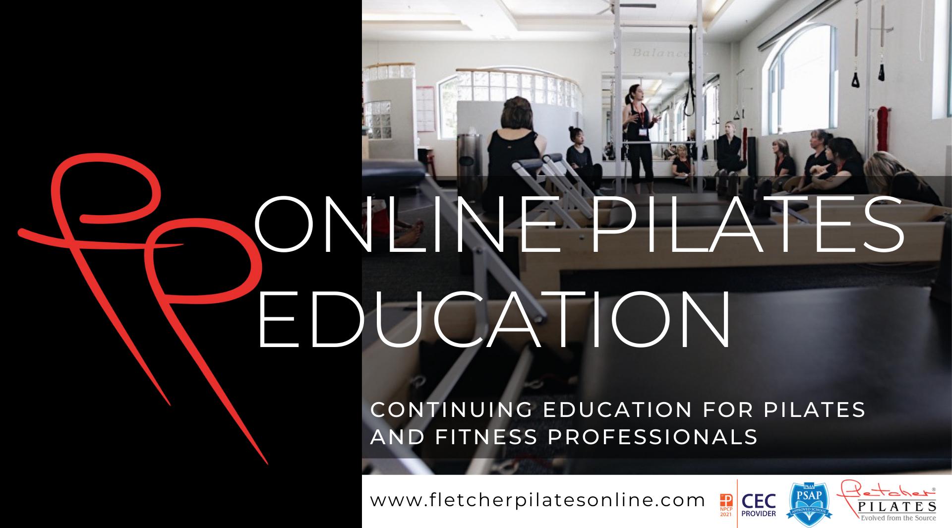 Fletcher Pilates Online Pilates Education