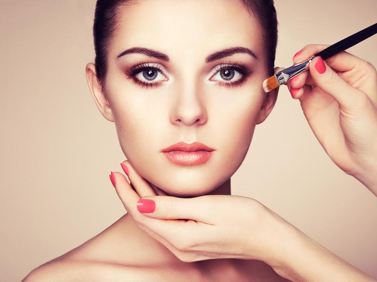contouring maquillaje de belleza y moda