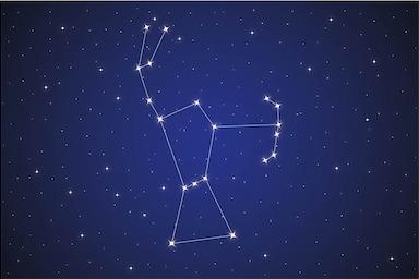 Figures in the Night Sky