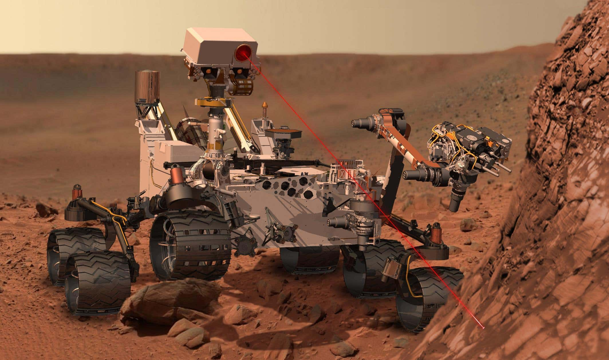 A Lab on Mars