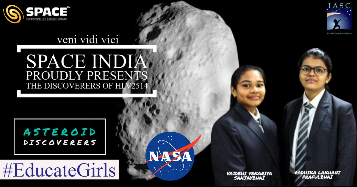 SPACE-All India Asteroid Search Program