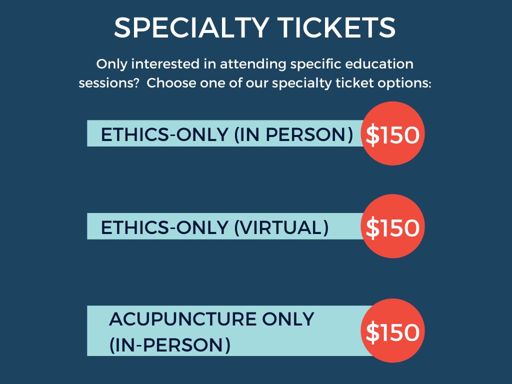 Specialty Tickets