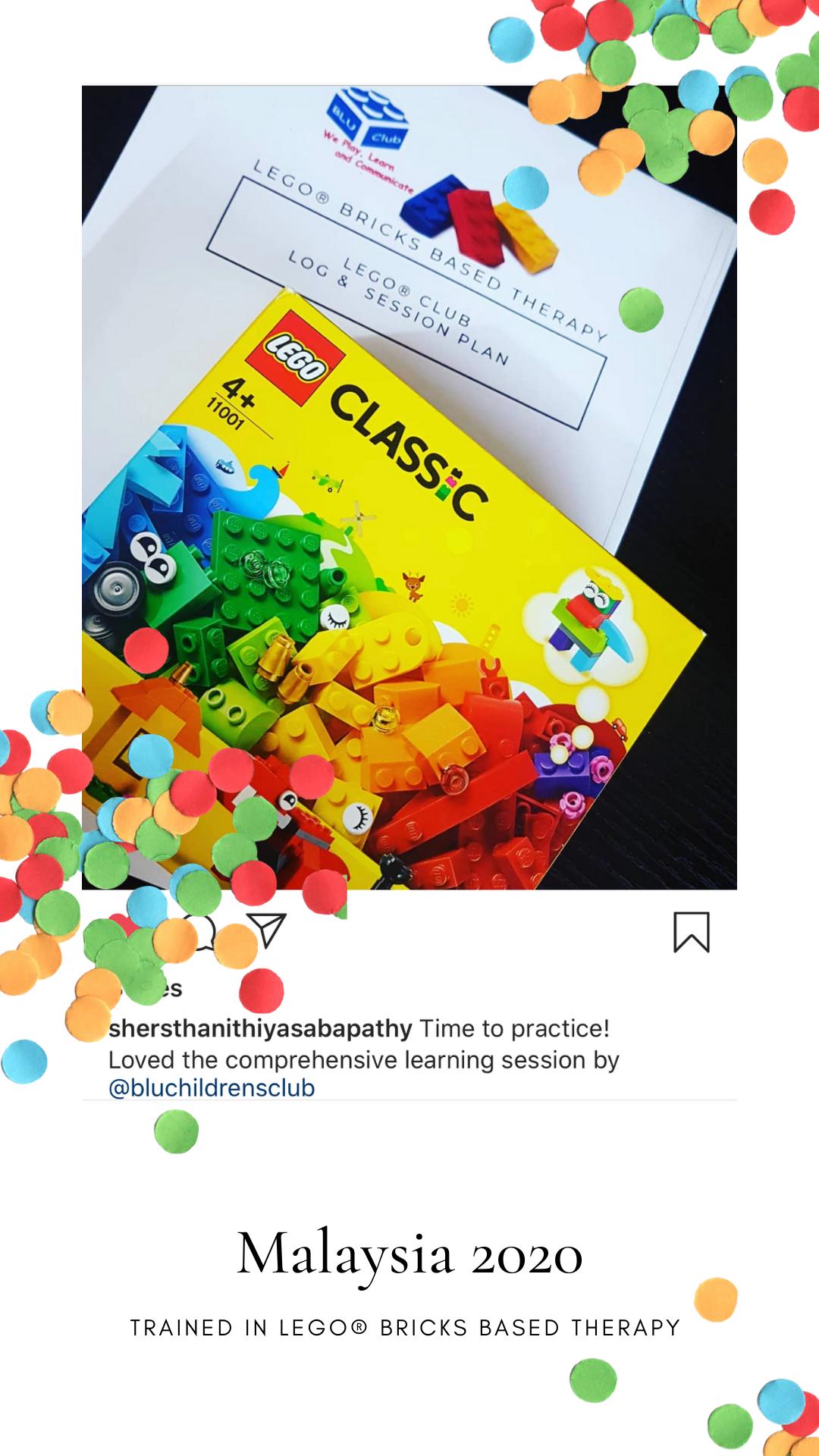Lego Bricks Based Therapy Training