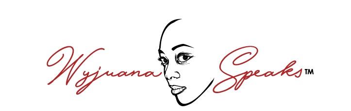 The WYJUANA SPEAKS logo