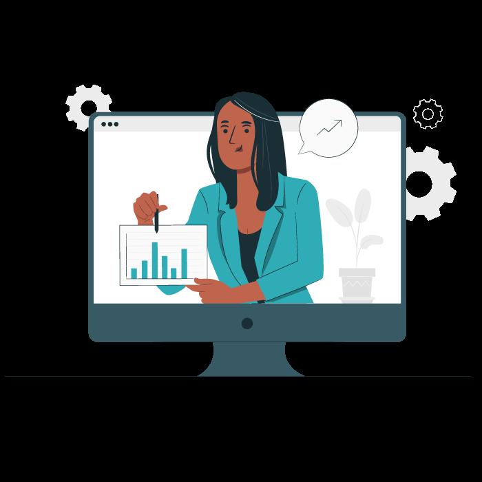 progress monitoring online classes