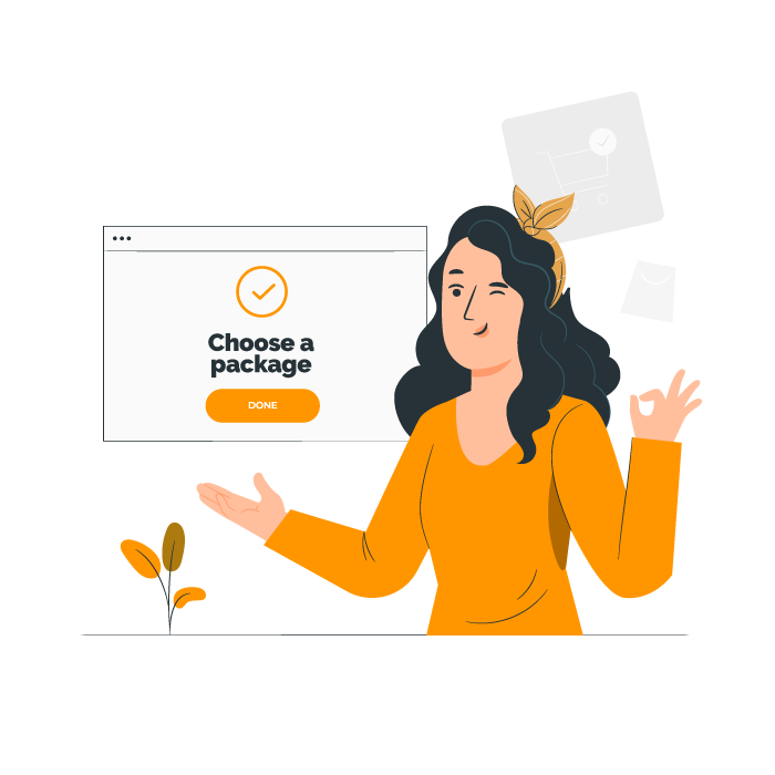 choose a package online classes