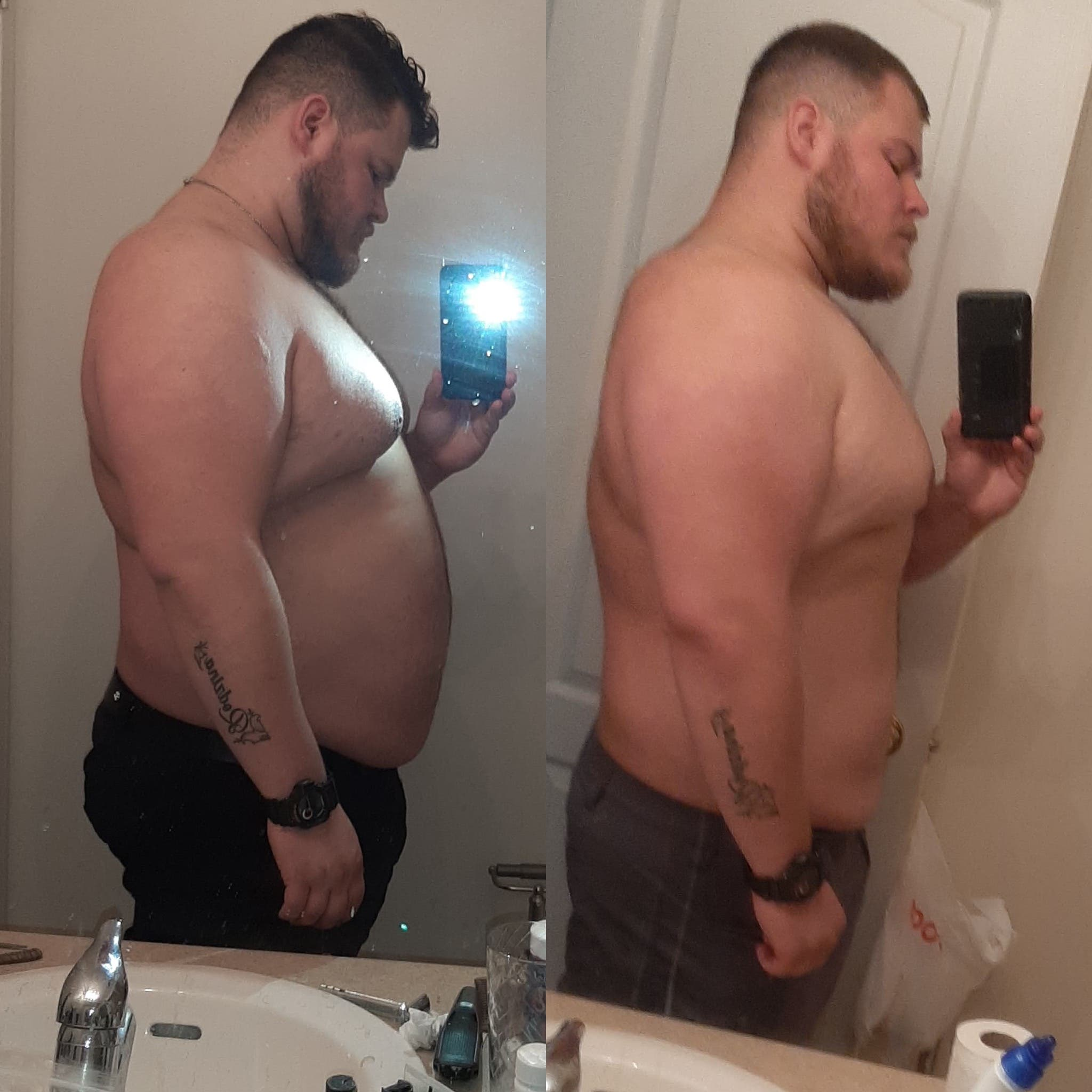2 month Transformation