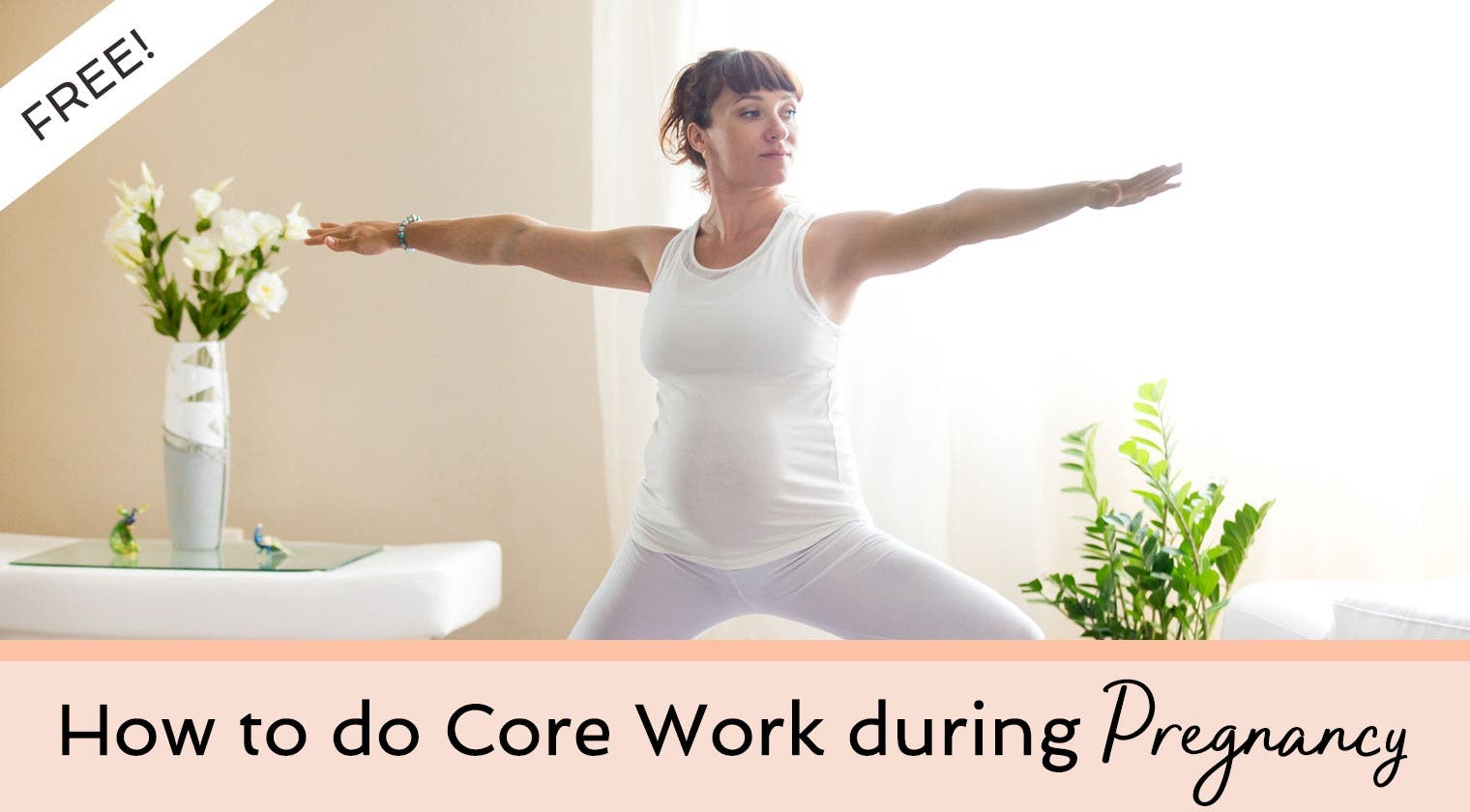 Free Training: How To Do Core Work During Pregnancy