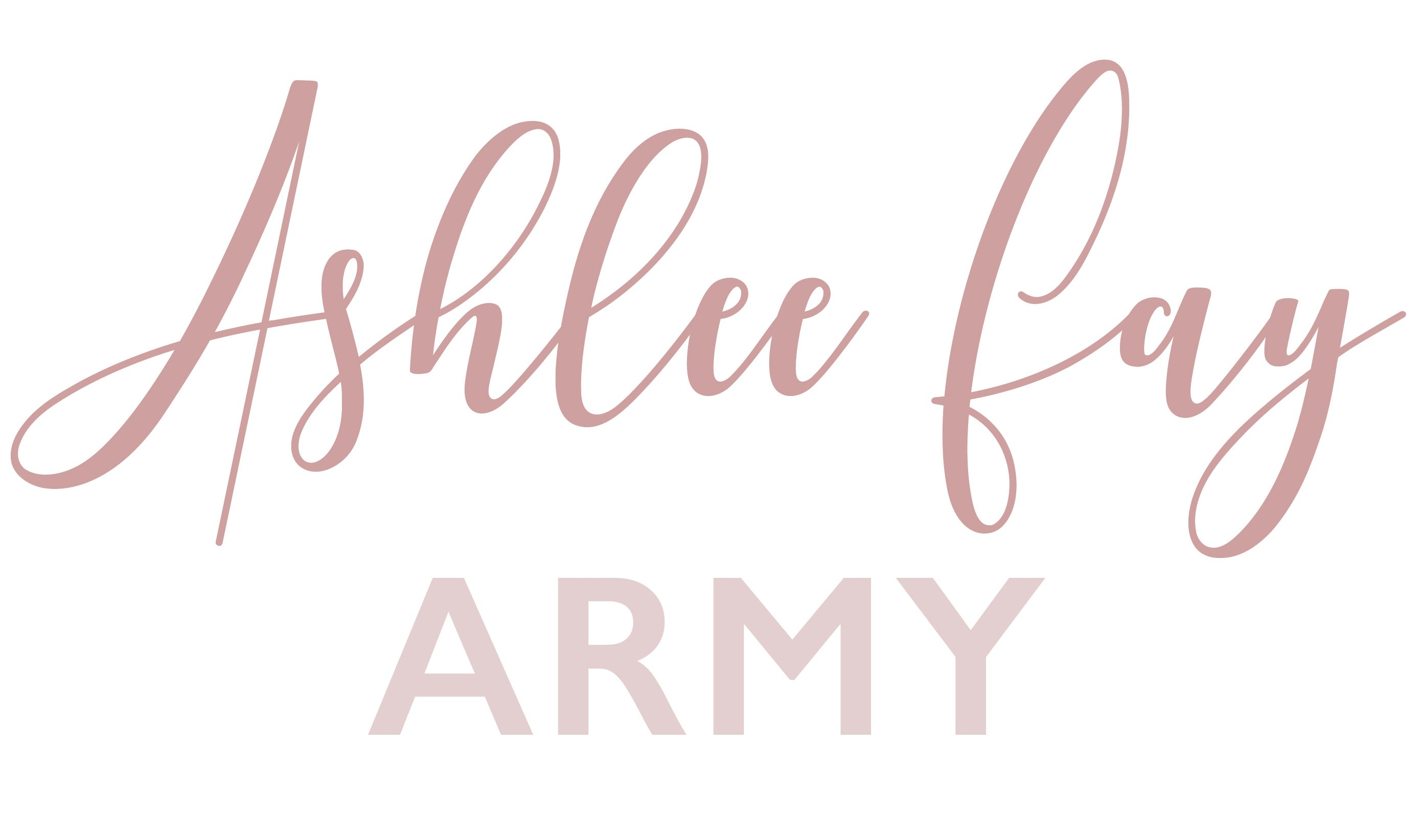 Ashlee Fay Army Membership Coming Soon