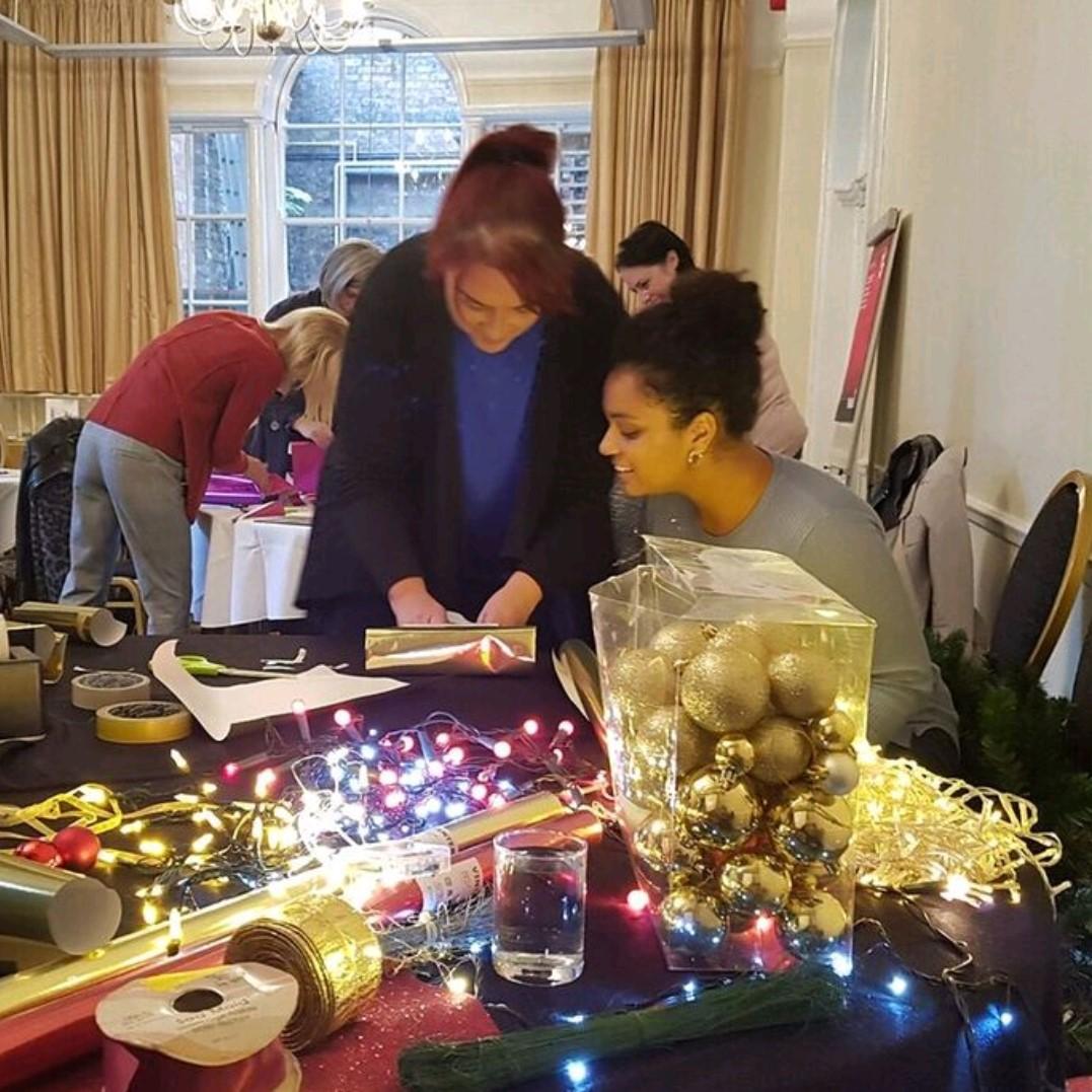 Live Christmas workshop