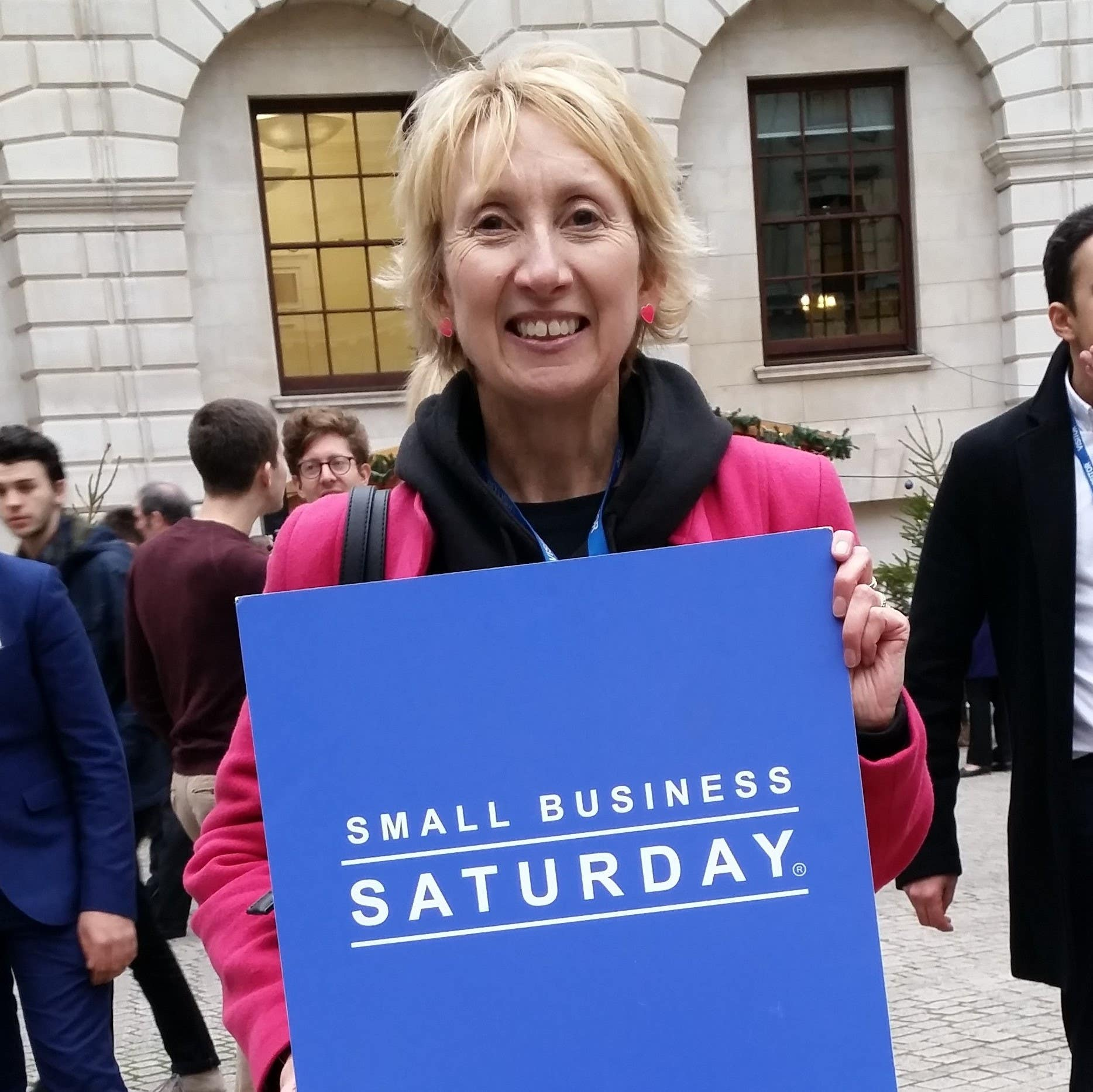 Proud to be chosen as one of Small Business Saturday's 100 and invited to The Treasury!