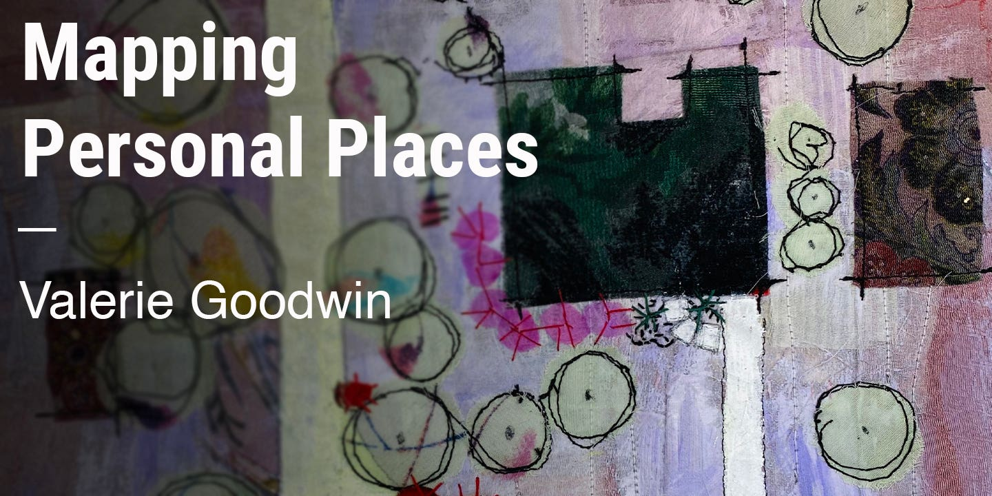 Mapping Personal Places Valerie Goodwin