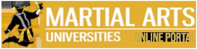 Martial Arts Universities Logo Online Portal