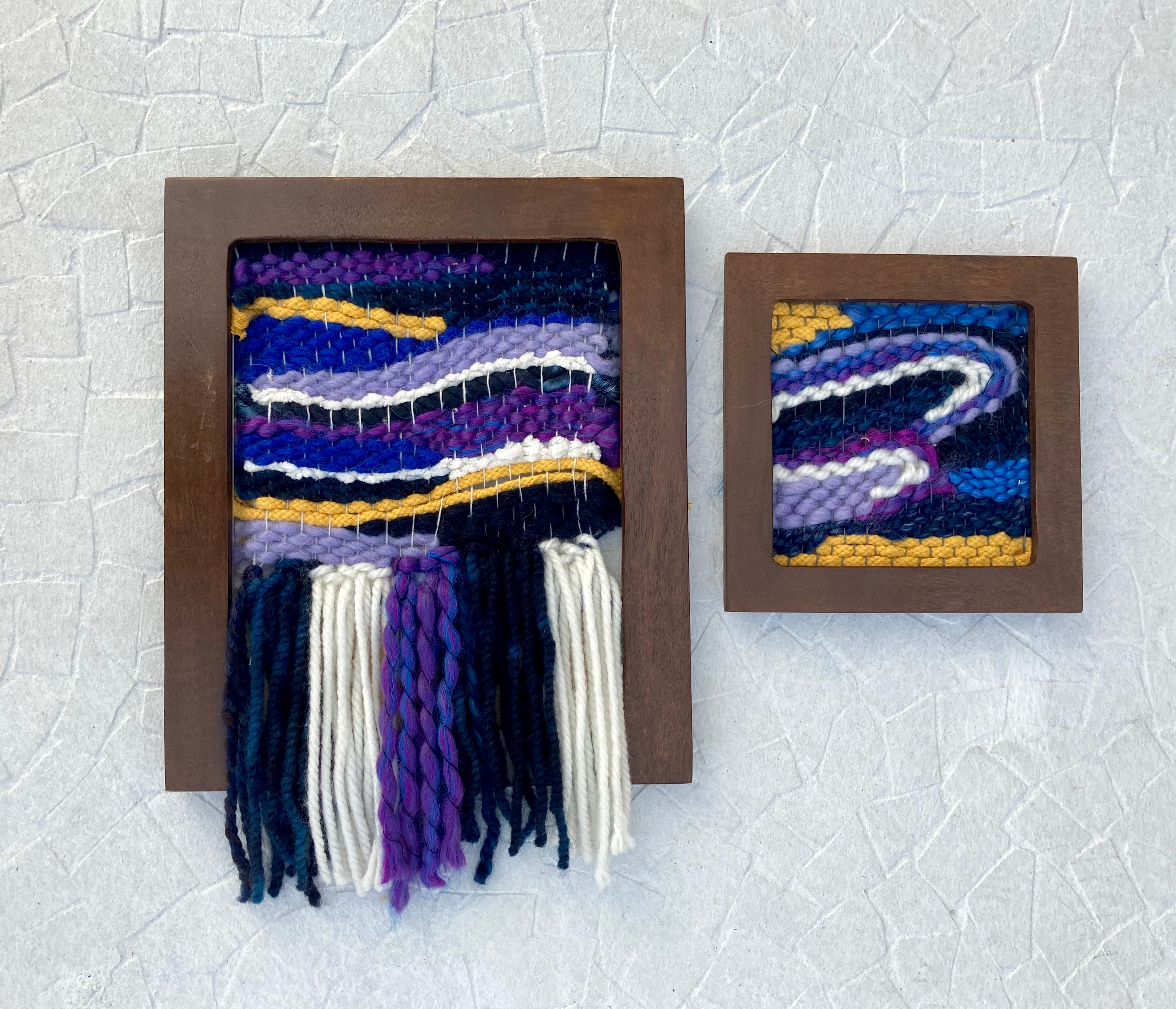 Weave your own wall art