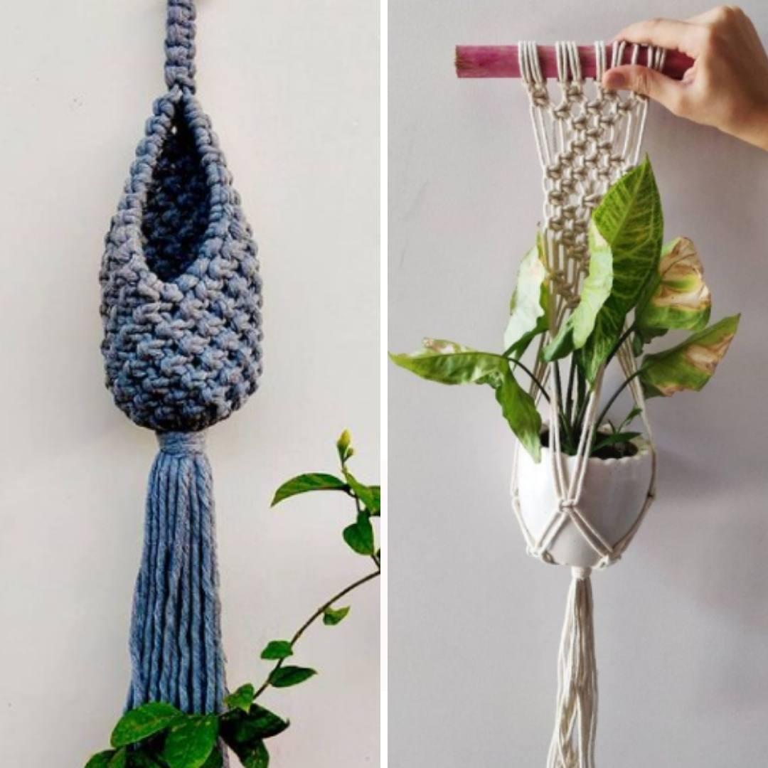 Macrame Pod & Plant hanger