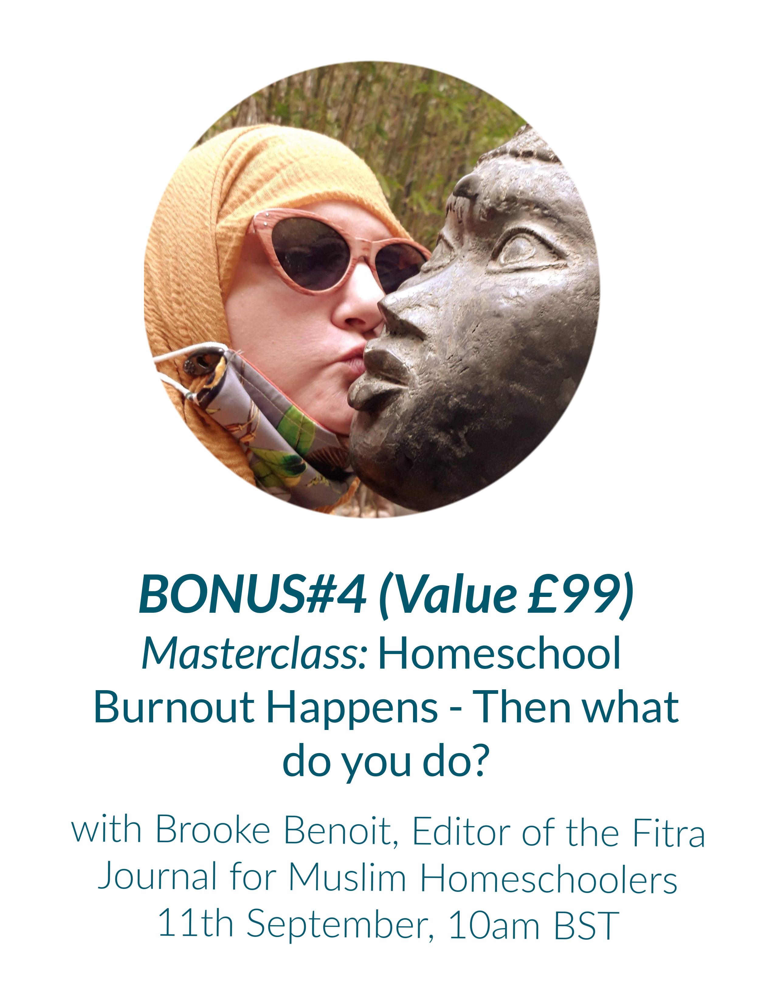 Bonus masterclass Brooke Benoit