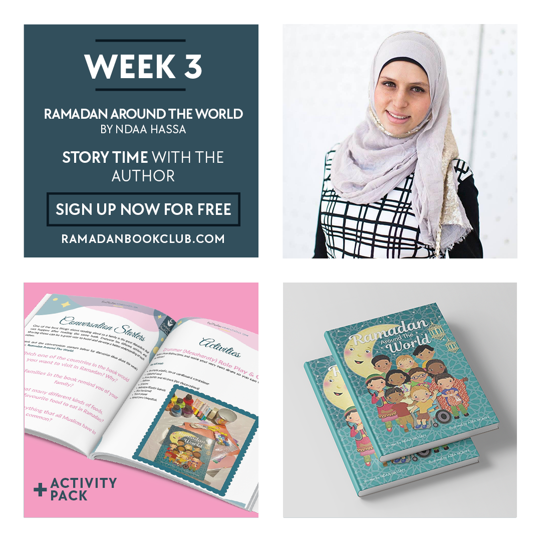 Ramadan Book Club for Kids Week 3 with Ramadan around the world