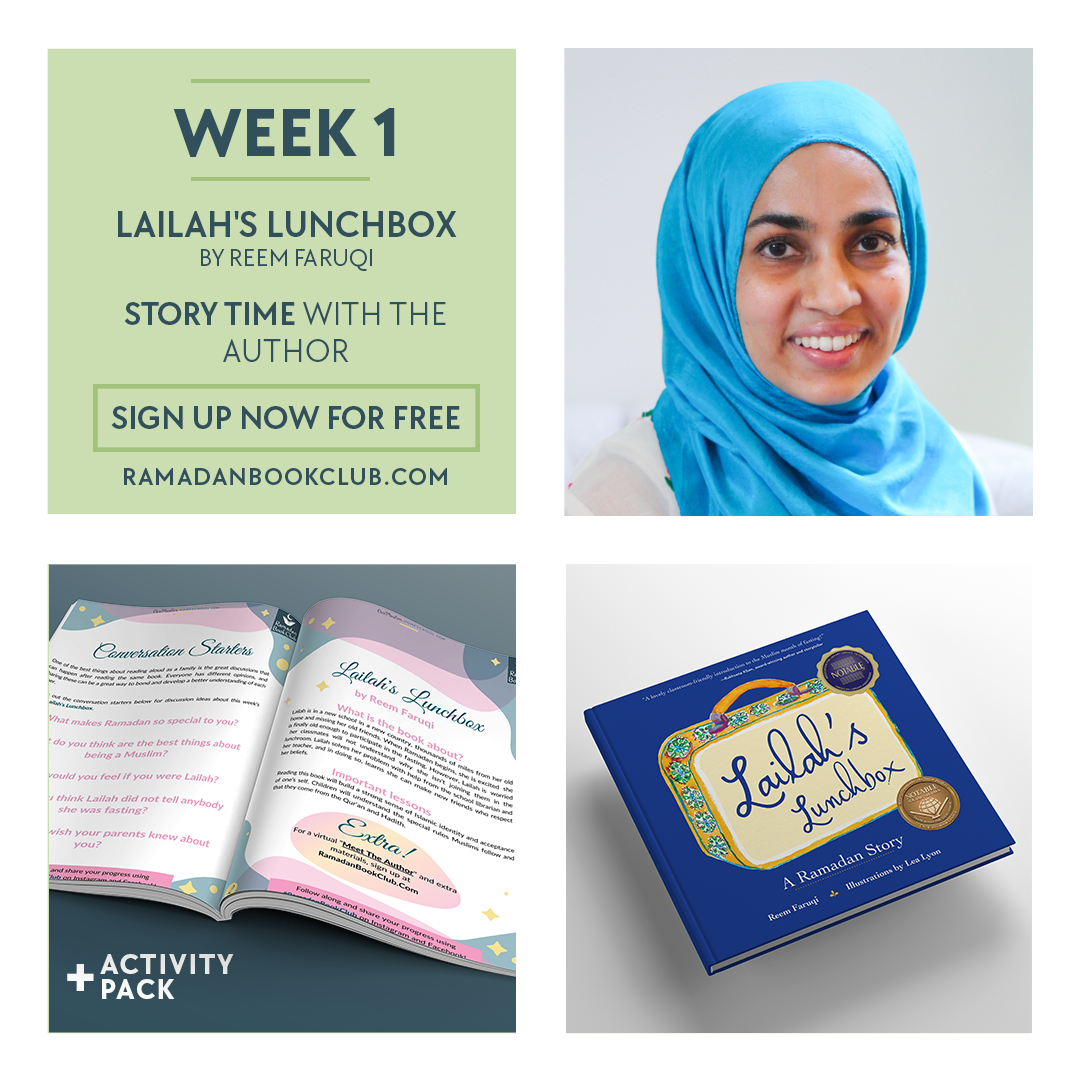 Ramadan Book Club for Kids Week 1 with Lailahs Lunchbox