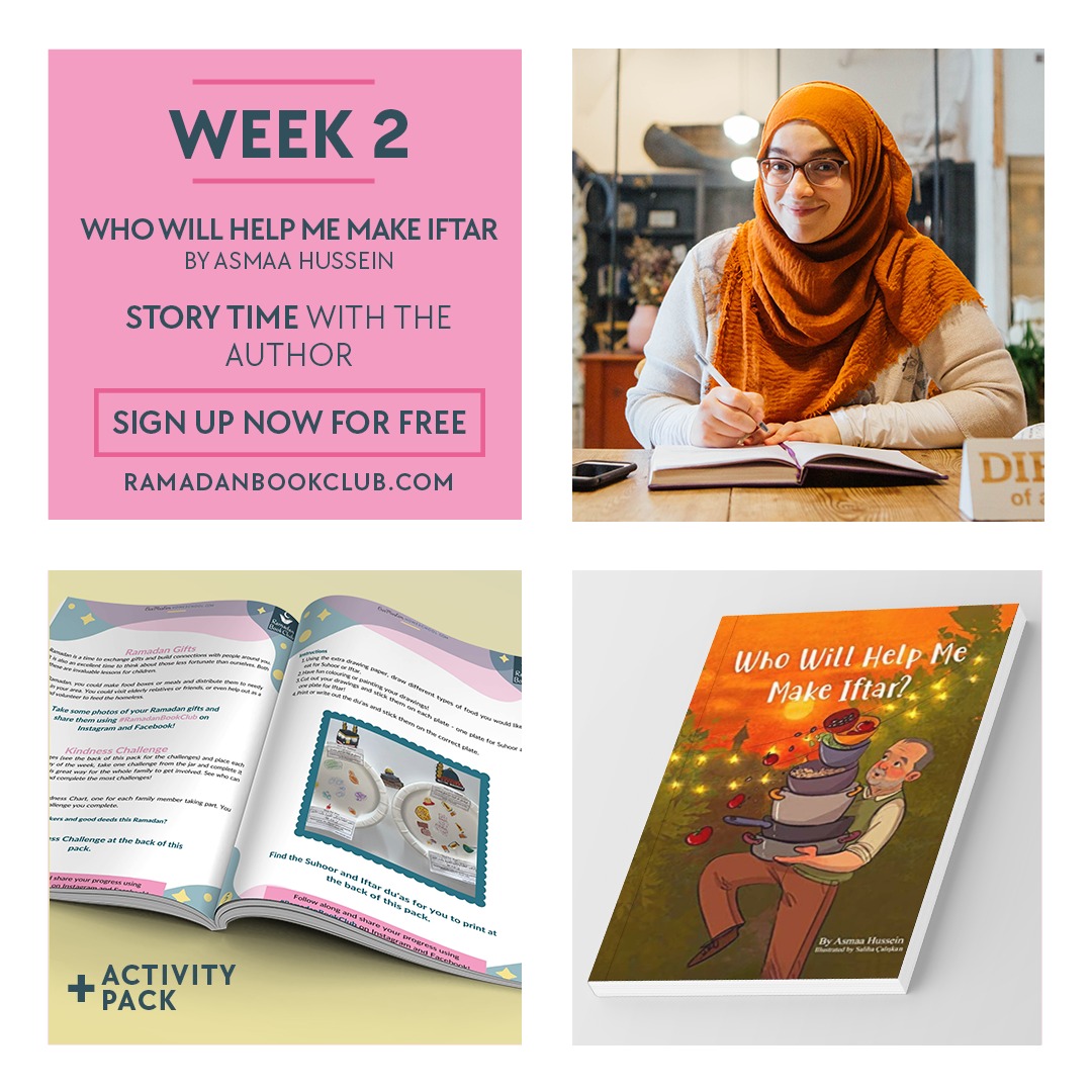 Ramadan Book Club for Kids Week 2 with Asmaa Hussein