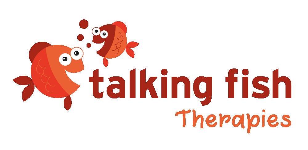 Talking Fish Speech Pathology Logo