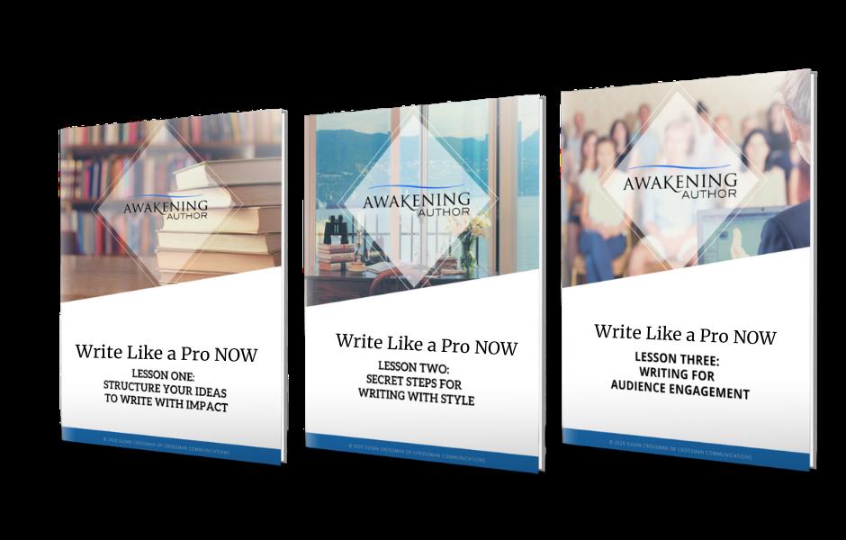 Write Like a Pro NOW