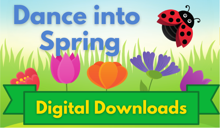 Dance into Spring Digital Downloads