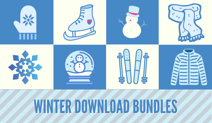 Winter Digital Bundles