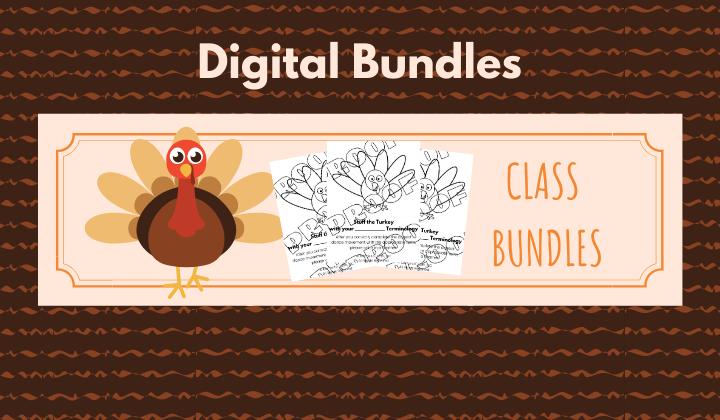 Thanksgiving Digital Download Bundles