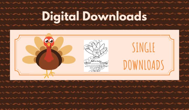 Digital Downloads - Thanksgiving
