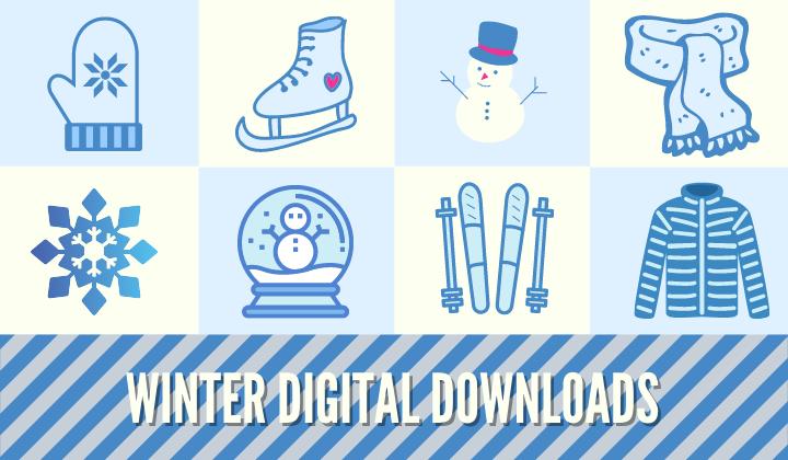 Winter Digital Downloads